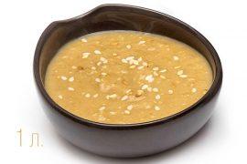 Соус ореховый. Кунжут (Кингома). 1,5 литровая упаковка