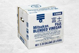 Уксус рисовый «Мицукан». Фуджи. 20 литров в коробке