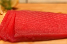 Филе тунца (Yellow Fin Tuna) Super (вес 1 кг)