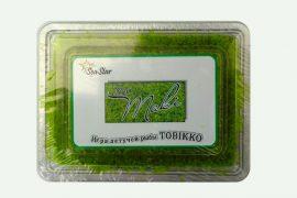 Икра летучей рыбы «Тобико» NEO зеленая 500 гр. в упаковке