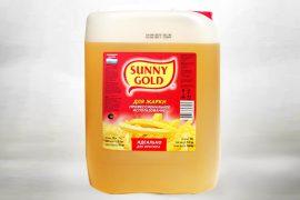 Масло фритюрное «Санни Голд» 5 л. в упаковке