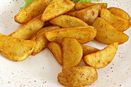 Картофель по-деревенски со специями 2.5 кг. в упаковке