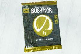 Водоросли прессованные (Nori Gold) 50 листов 150 гр. в упаковке