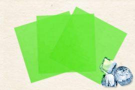 Маменори  (пресованые листы) замороженные  зеленые 100 гр. в упаковке