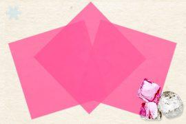 Маменори (пресованые листы) замороженные розовые 100 гр. в упаковке