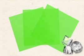 Маменори  (пресованые листы) замороженные зеленые 80 гр. в упаковке