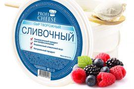 Сыр творожный ПРОФИЧИЗ (Prof Cheese), 2 кг.
