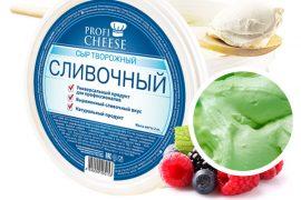 Сыр творожный зеленый ПРОФИЧИЗ (Prof Cheese), 5 кг.