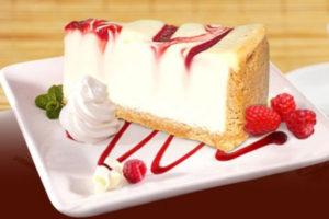 Торт чизкейк New-York с Малиной 1,66 кг. купить вКазани по низкой цене с доставкой