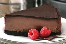 Чизкейк New-York тройной шоколад 1,9 кг.