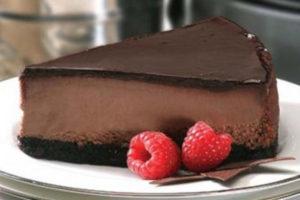 Чизкейк New-York тройной шоколад 1,9 кг. купить в Казани торт с доставкой