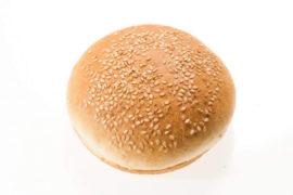 Булочка для гамбургера c кунжутом 12 см. 60 шт. в упаковке