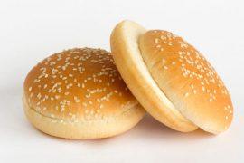 Булочка для гамбургера c кунжутом «8 Сезон» 10 см. 60 шт. в упаковке