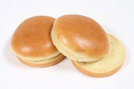 Булочка  для гамбургера без кунжута «8 Сезон» 12 см. 40 шт. в упаковке