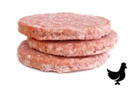 Котлета для чикенбургера (120 гр.) куриная «Чикенбургер» 5 кг. в коробке