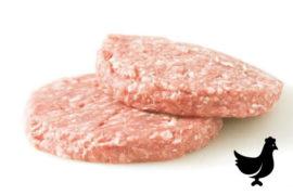 Котлета 60 гр./шт. для чикенбургера из курицы «Чикенбургер» 5 кг. в коробке