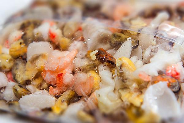 Морской коктейль, морепродукты купить в Казанис доставкой, товары для суши, продукты для роллов, продукты для пиццы