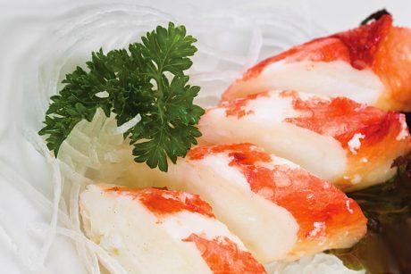 """Мясо """"Снежного краба"""", морепродукты купить в Казанис доставкой, товары для суши, продукты для роллов, продукты для пиццы"""