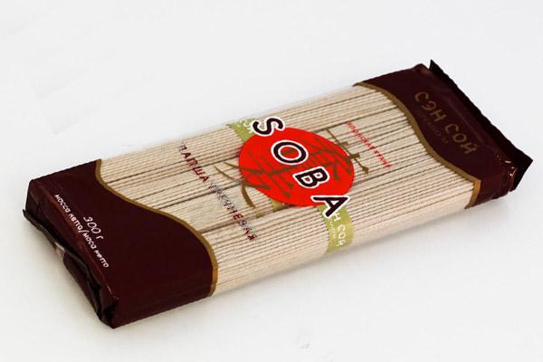 Лапша гречневая, товары для суши, товары для роллов, японская кухня, Соба купить в Казани с доставкой